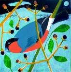 Winter Bullfinch