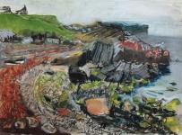 Dunlins at Stenness, Shetland