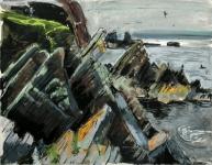 Rock formations, Sumburgh Head