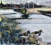 Turnstones at the Esk estuary