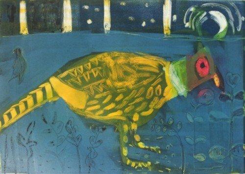 Moonlit Pheasant