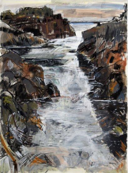 Rising tide, Isle of May