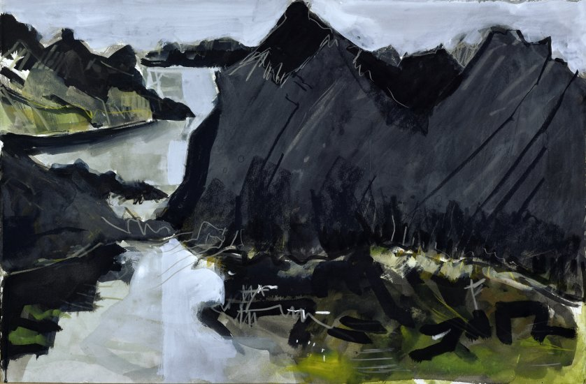 Green tidal pool, Shetland